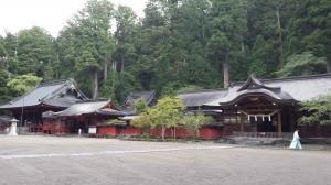 Salah satu kuil di Nikko