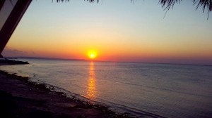 sunset, kupang